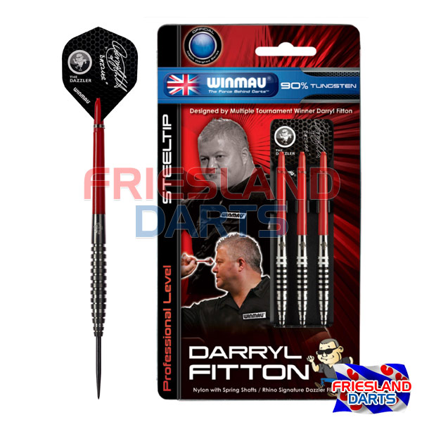 Winmau Darryl Fitton Black 90% Tungsten 23gr